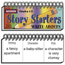 Mcdonald Publishing MC-W2021 Write-Abouts Story Starters Gr 1-3