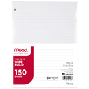 Mead Products MEA15103 Notebook Paper Wide Ruled 150Ct