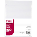 Mead Products MEA15200 Paper Filler Wm 10 1/2 X 8 200 Ct