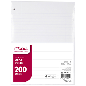Mead Products MEA15200 Paper Filler Wm 10 1/2 X 8 200 Ct, Price/EA