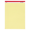 Mead Products MEA59610 Legal Pad 8.5X11.75 50 Ct Canary