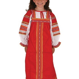 Mojo Education MJ-M127950 Russian Girl Costume, Price/EA