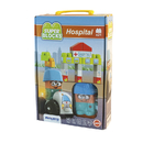 Miniland Educational MLE32351 Super Blocks Hospital Set