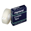 3M MMM620034 Tape Highland Invisible 3/4 X1296