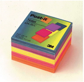 3M MMM6545UC Notes Post-It Ultra Sold As Pk Colors 3 X 3, Price/EA