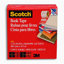 3M MMM84515 Scotch Bookbinding Tape 1 1/2V X 15 Yds