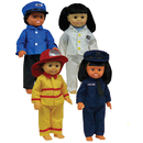 Get Ready Kids MTB1321 Career Doll Clothes
