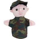 Get Ready Kids MTB455 Puppets Machine Washable Soldier