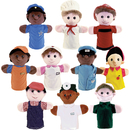 Get Ready Kids MTB469 Community Helper Puppets Set Of 10