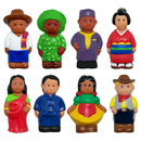 Get Ready Kids MTB621 Multicultural Around World Fig 8Pk
