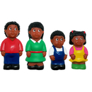 Get Ready Kids MTB626 African-American Family Figure Set