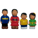 Get Ready Kids MTB628 Asian Family Figure Set