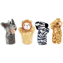 Get Ready Kids MTB9009 Zoo Puppet Set I Includes Rhino Zebra Giraffe & Lion