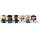 Marvel Education MTC319 Multi Ethnic Career Puppet 6 Set Of All Career Puppets