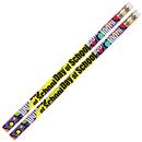 Musgrave Pencil Co MUS2489D 100Th Day Of School 12Pk Motivational Fun Pencils