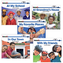 Newmark Learning NL-1056 Sight Word Readers Complete Social Studies 16 Title Set