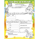 North Star Teacher Resource NST3090 Fill Me In Posters Im One Of A Kind