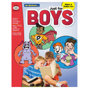 On The Mark Press OTM18133 Just For Boys Gr 3-6 Reading - Comprehension