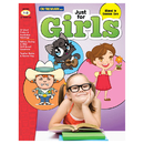 On The Mark Press OTM18135 Just For Girls Gr 1-3 Reading - Comprehension