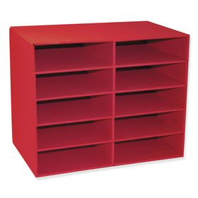 Pacon PAC001314 10 Shelf Organizer, Price/EA