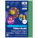 Pacon PAC102960 Tru Ray 9 X 12 Holiday Green 50 Sht Construction Paper