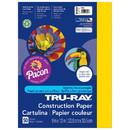 Pacon PAC103004 Tru Ray 9 X 12 Yellow 50 Sht Construction Paper