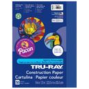 Pacon PAC103017 Tru Ray 9 X 12 Dark Blue 50 Sht Construction Paper