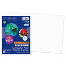 Pacon PAC103613 Riverside 12X18 White 50 Sht Construction Paper