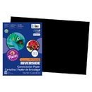 Pacon PAC103631 Riverside 12X18 Black 50 Sht Construction Paper