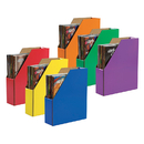 Pacon PAC1327 Classroom Keepers 6/Pk Magazine Holder Asstd