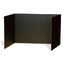 Pacon PAC3791 Black Privacy Board 48 X 16
