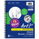 Pacon PAC4794 Art1St Sketch Diary 11 X 8 1/2 White 50Lb