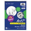Pacon PAC4850 Art1St Sketch Book 9X12 30 Sht Wht