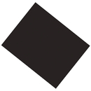 Pacon PAC53941 Poster Board 22X28 Black 6 Ply - Coated