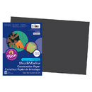 Pacon PAC6307 Construction Paper Black 12 X 18