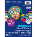 Pacon PAC6503 Construction Paper Assorted 9X12