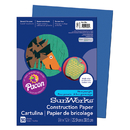 Pacon PAC7303 Construction Paper Dark Blue 9X12