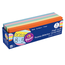 Pacon PAC74150 Flash Cards Asst Clr 3X9