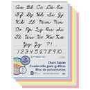 Pacon PAC74731 1 Ruled Cursive Cover 25 Ct 24 In X 32 In Assorted