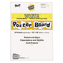Pacon PAC76510 Super Value Poster Board All White