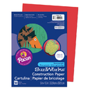 Pacon PAC9903 Sunworks 9X12 Holiday Red 50Ct Construction Paper