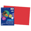 Pacon PAC9907 Sunworks 12X18 Holiday Red 50Ct Construction Paper