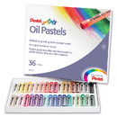 Pentel Of America PENPHN36 Pentel Oil Pastels 36 Ct