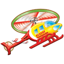 Platapilla USA PPATP016 Rescue Helicopter Floor Puzzle