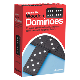 Pressman Toys PRE152112 Double Six Dominoes, Price/EA