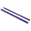 Rhythm Band Instruments RB-767 Rhythm Sticks 1 Fluted 1 Plain 14L
