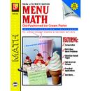 Remedia Publications REM101B Menu Math Ice Cream Parlor Book-2 Multi
