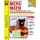 Remedia Publications REM102B Menu Math Hamburger Hut Book-2 Multi Standard Iv