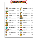 Remedia Publications REM111B Menu Math For Beginners 6Pk Extra Price Lists