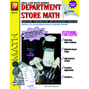 Remedia Publications REM161A Book Department Store Math Gr 4 - 8